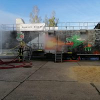 Brandschutzcontainer 1